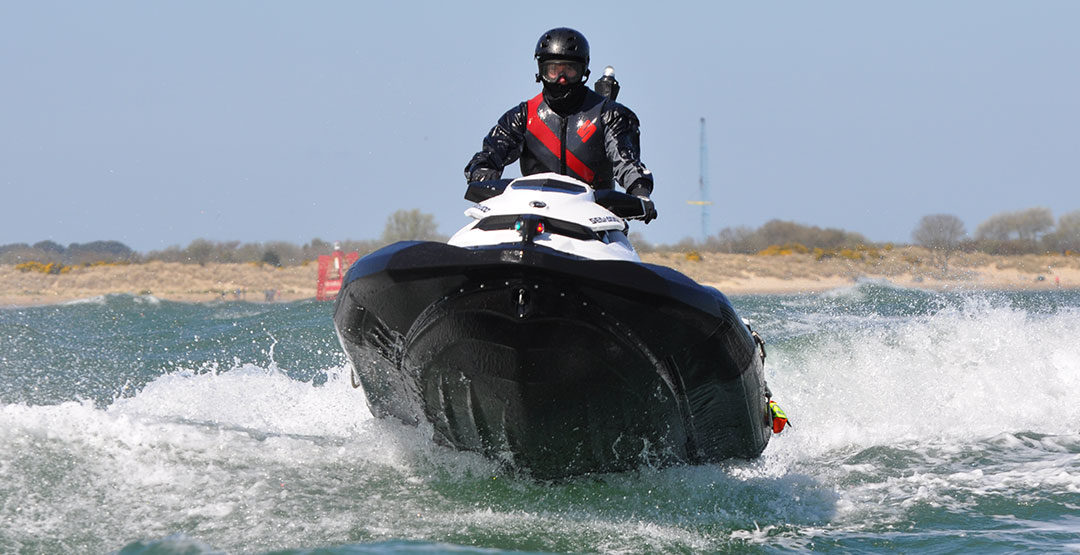 SeaDoo SAR Watercraft Testing